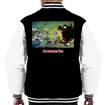 An American Tail Mott Street Maulers Men's Varsity Jacket
