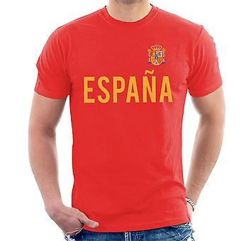 Toff Vintage Football Spain Badge Men's T-Shirt