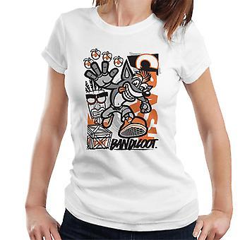 Crash Bandicoot High Four Women's T-Shirt