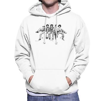 Jackson 5 At Hyde Park Corner 1977 Men's Hooded Sweatshirt