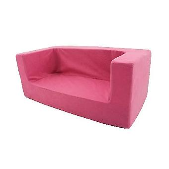 Pink Girls Kids Children-apos;s Confortable Chair Toddlers Foam Armchair Seat Seating D cor