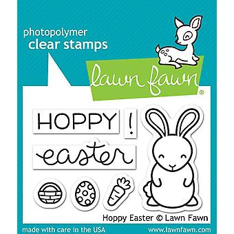 Lawn Fawn Clear Stamps - Hoppy Pâques