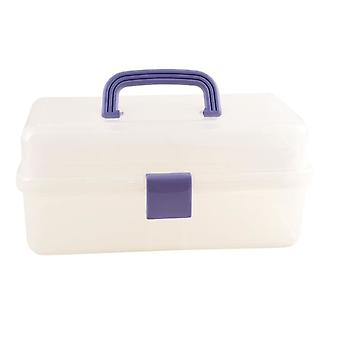 Docrafts Clear Caddy (Blue Handle & Catch) (TB 03)