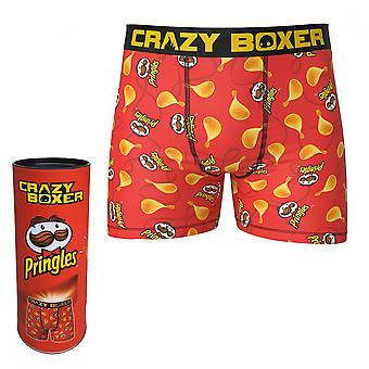 Pringles Chips Crazy Boxer Briefs in Pringles Tube