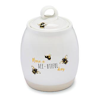 Cooksmart Bumble Bees Tea Canister