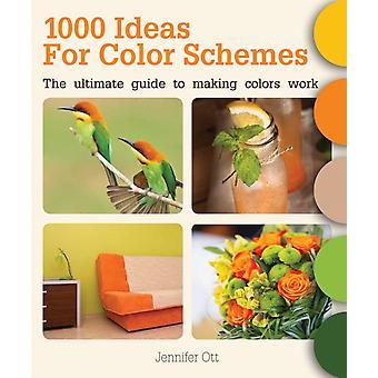 1000 Ideas for Color Schemes by Ott & Jennifer