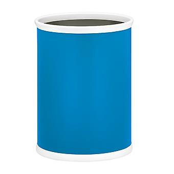Proceso Azul 14 Pulgadas Oval Waste Basket