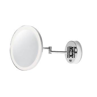 SALLE DE BAINS LED Loupe Réglable Wall Light Chrome, Miroir IP44