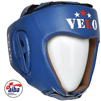 VELO AIBA Headguards Blue