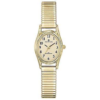 Se Certus 630794-stål boks dor oval dame dor stål armbånd