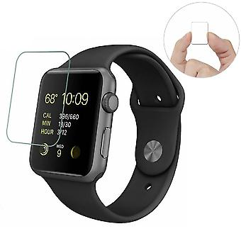 Screenprotector voor Apple Watch Ultra Slim Precise Touch Tempered Glass -2 Pack