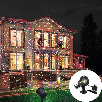 Moving Full Sky Star Laser Projector Landscape Lighting Red&green Christmas