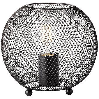 LUZ de mesa SOco BRILLANTE Luces interiores negras, Luces de mesa,-Decorativos ? 1x A60, E27, 60W, adecuado para lámparas normales