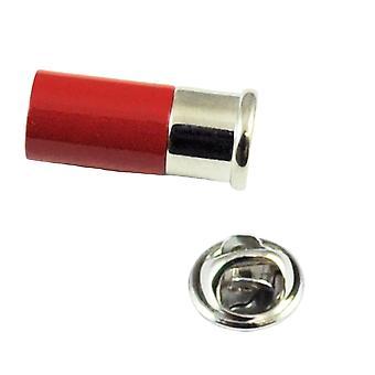 Ties Planet Red Shotgun Cartouche Lapel Pin Badge
