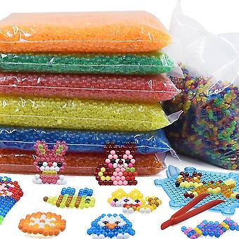 24 Colors 5mm Water Spray Beads Diy 3d Puzzles Toy, Hama Magic Beads
