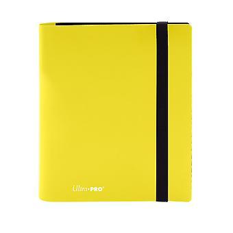 4-Pocket Eclipse Lemon Yellow Pro-Binder