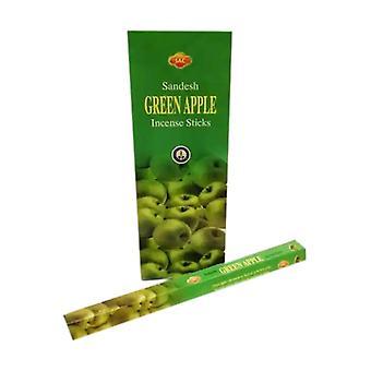 Incenso Maçã Verde 20 unidades