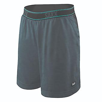 Saxx Legend Athletic Shorts - Grey Camo