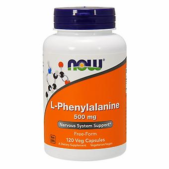 Nu Foods L - Phenylalanin, 500 mg, 120 Caps