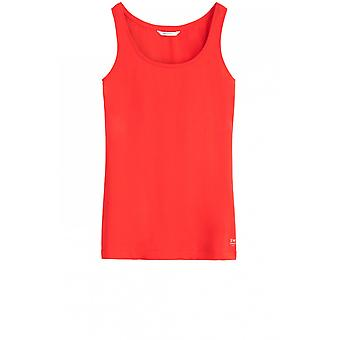 Sandwich Clothing Red Jersey Vest Top