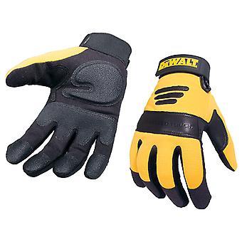 DEWALT Synthetic Padded Leather Palm Gloves DEWPERFORM2
