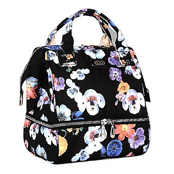 Floral Multi-functional Mommy Diaper Backpack, Maternity Large Capacity, Dry,