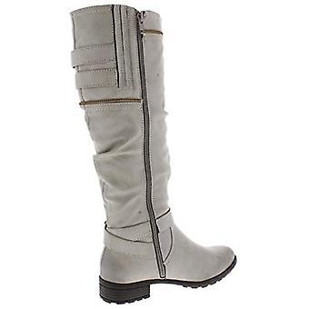 White Mountain Womens Remi Closed Toe Knee High Fashion Boots