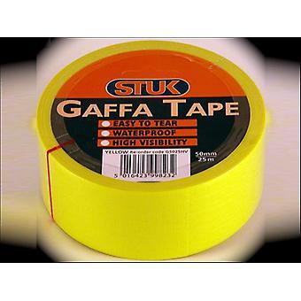 STUK Gaffa Tape Hi-Visibility 50mm x 25m GBD5025HV
