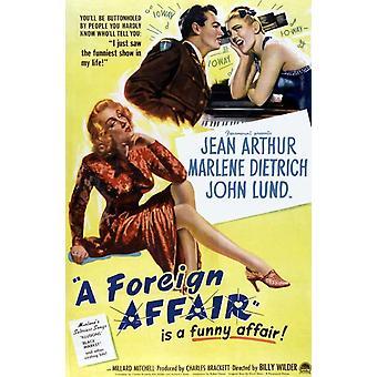 A Foreign Affair Movie Poster Print (27 x 40)