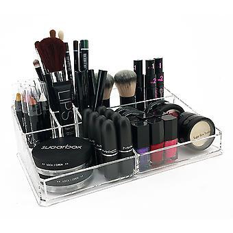 OnDisplay Deluxe Acrylic Cosmetic/Jewelry Organization Tray