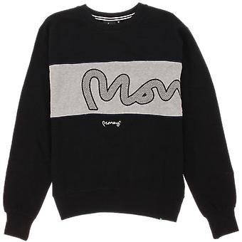 Money Sig Panel Sweatshirt Black 90