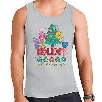 Care Bears Avaa Magic Christmas Holiday Cheer Men's Vest