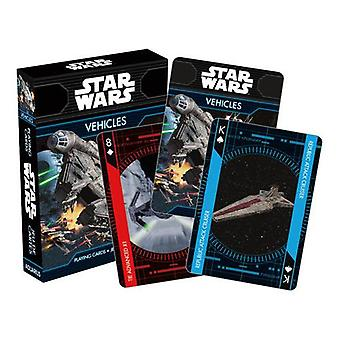 Star wars - vehicles playing cards