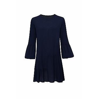 Mini Dress-puffed Long Sleeves