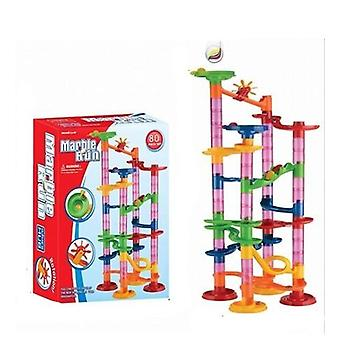 Construction Marble Run Race Track Building Blocks,