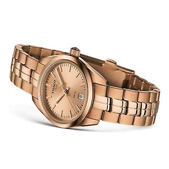 Tissot T101.010.33.451.00 Pr 100 Lady Small Rose Gold Stainless Steel Watch