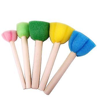 Drawing Sponge Art/graffiti Brush-toy Imagination Stamp Painting/kids Funny