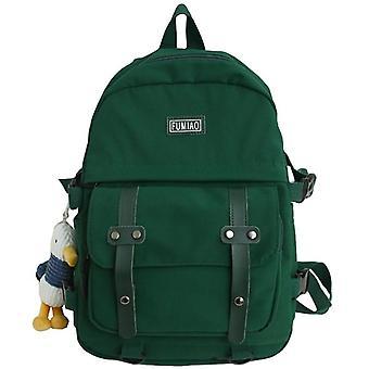 Women Waterproof Nylon Backpack, Student Cute School Bag, Laptop Female Fashion