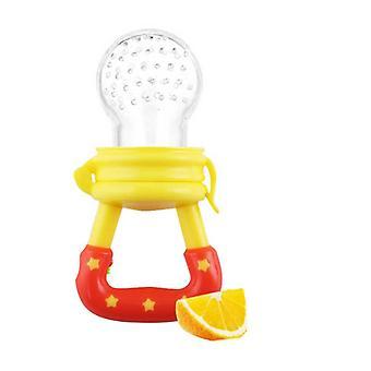 Nyfödda Baby Frukt Teether Nippel, Mat Bite Napp - Säker Feeder Oral vård