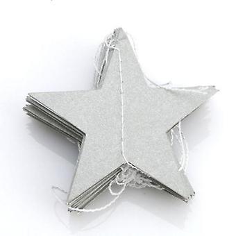 Paper Star Garlands Banner para cumpleaños cuerda y cadena de fiesta de bodas