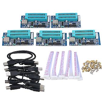 5x PIC USB Automatic Microchip Develop Microcontroller Programming Programmer
