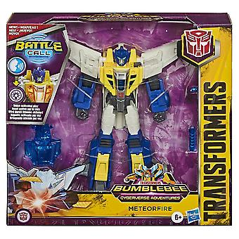 Transformers Meteorfire Battle Call Trooper Cyberverse Adventures