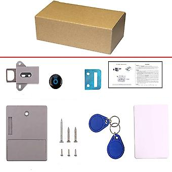 No-hole Hidden, Smart Sensor, Invisible Cabinet Lock & Id Card /drawer/ Swipe