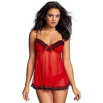 Ruffles Bow Galore Babydoll Set
