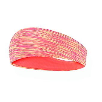 1 pc Simple style Running Hair Wrap for Women Man Washing Face Shower (Orange)