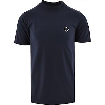 MA.STRUM Navy Short Sleeve Icon T-Shirt