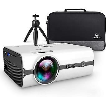 L410 Native 720P Projector, Portable Projector Support 1080P and 180'' Display