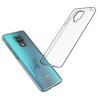 Coque Pour Xiaomi Redmi Note 9 Pro, Housse De Protection En Silicone De Haute Qualité, Transparent
