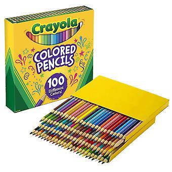 Farbige Bleistifte, 100 Zählen