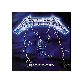 Metallica Ride De Lightning Canvas Print